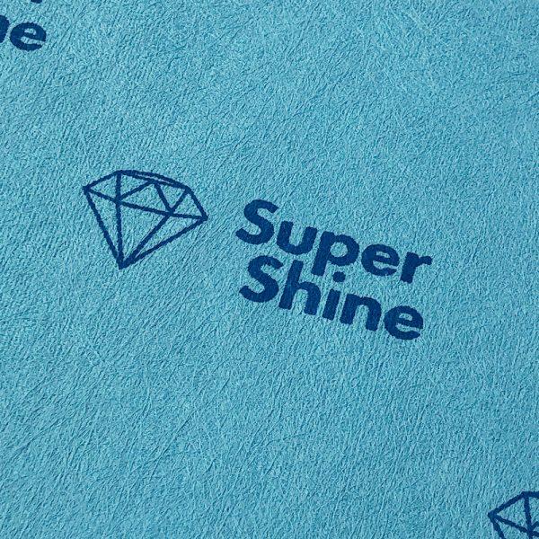 SuperShine Large Schoonmaakdoek Detailshot materiaal
