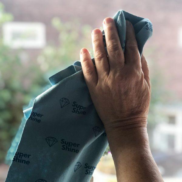SuperShine X-Large Schoonmaakdoek Ramen Schoonmaken streeploos schoon