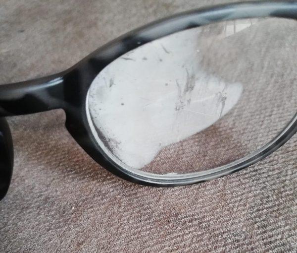 Beslagen brilglas
